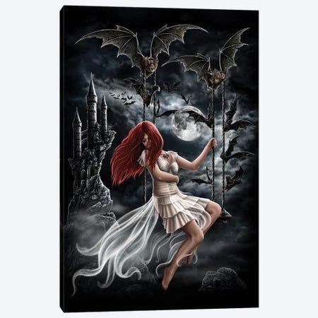Draculas Bride Canvas Print #SRC17} by Sarah Richter Canvas Artwork