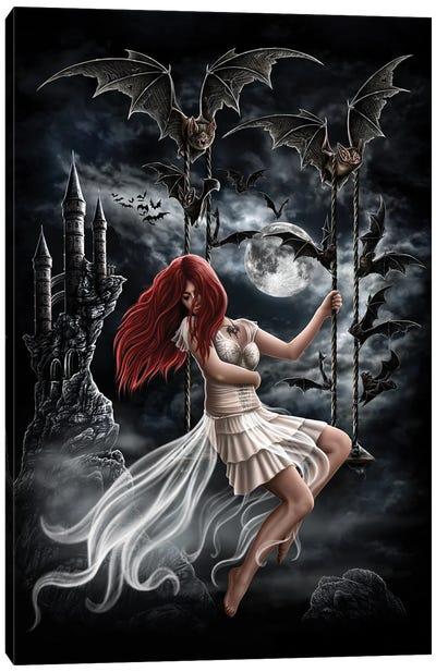 Draculas Bride Canvas Art Print