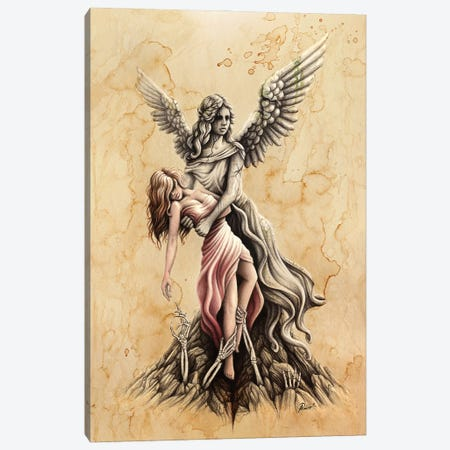 Heaven And Hell Canvas Print #SRC27} by Sarah Richter Art Print
