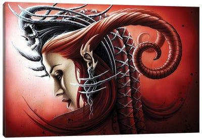 Queen Evil Canvas Art Print