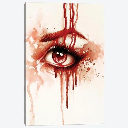 Red Tears Canvas Print #SRC39} by Sarah Richter Canvas Print