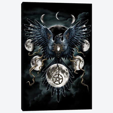 Sinister Wings Canvas Print #SRC42} by Sarah Richter Canvas Artwork