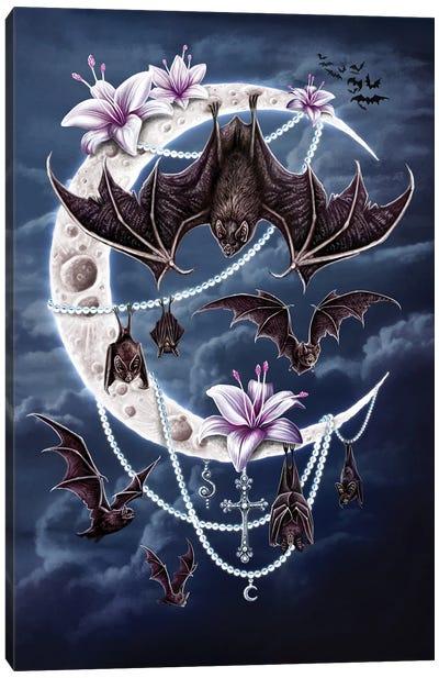 Bat's Moon Canvas Art Print