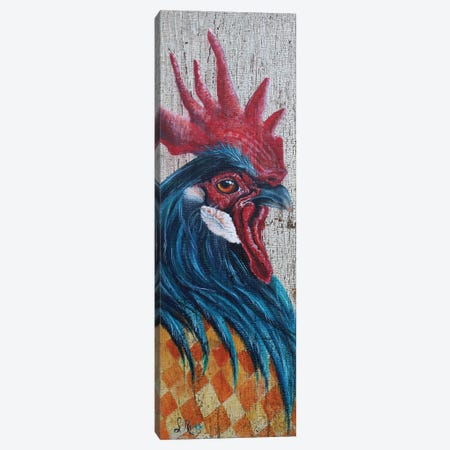 Lil' Cocky Canvas Print #SRD19} by Suzanne Rende Canvas Art