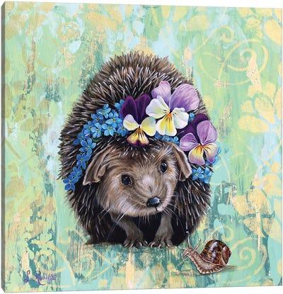 Hedgehog's Garden Canvas Art Print