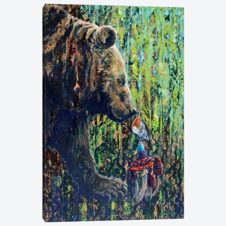 Sureness Canvas Print #SRD25} by Suzanne Rende Canvas Art