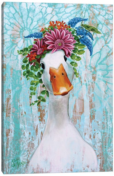 Quack And Katy Canvas Art Print