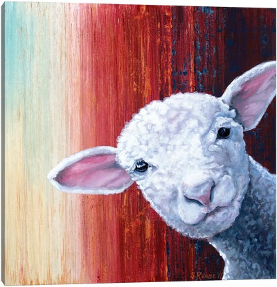 Lamb Canvas Art Print