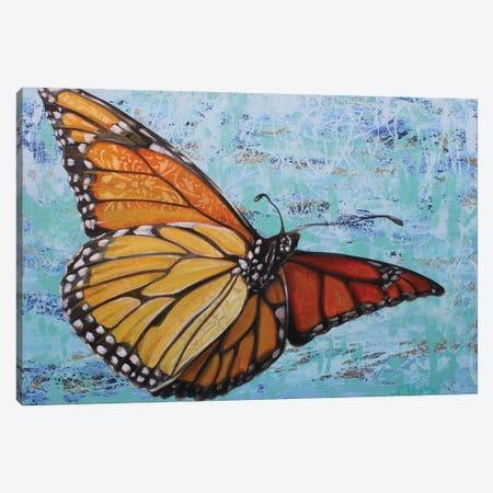 Flutterby Canvas Print #SRD41} by Suzanne Rende Canvas Print