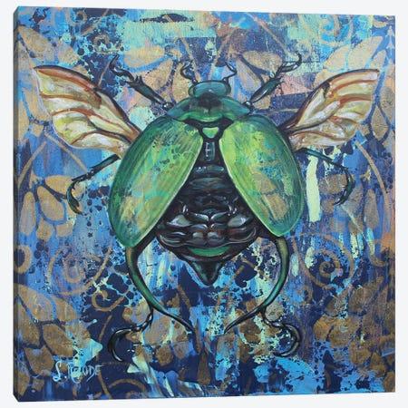 John Beetle Canvas Print #SRD42} by Suzanne Rende Art Print