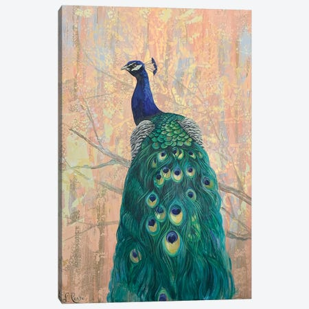 Some Tail Feathers Canvas Print #SRD54} by Suzanne Rende Art Print