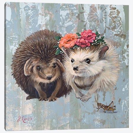 Woodland Wedding Canvas Print #SRD59} by Suzanne Rende Canvas Wall Art