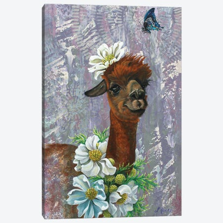 Ally And Blue Canvas Print #SRD9} by Suzanne Rende Canvas Artwork