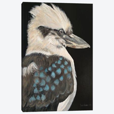 Kookaburra Canvas Print #SRE29} by Suzi Redman Canvas Artwork