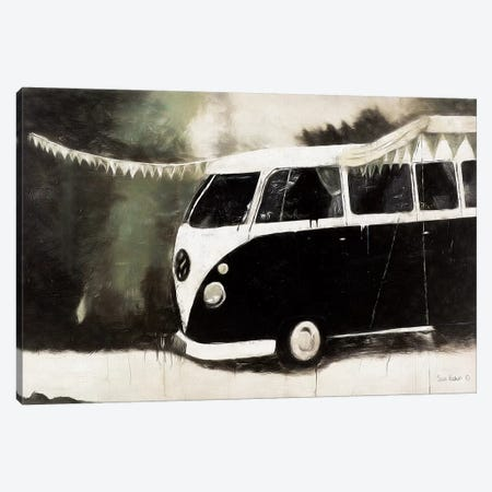 Gone Camping Canvas Print #SRE3} by Suzi Redman Art Print