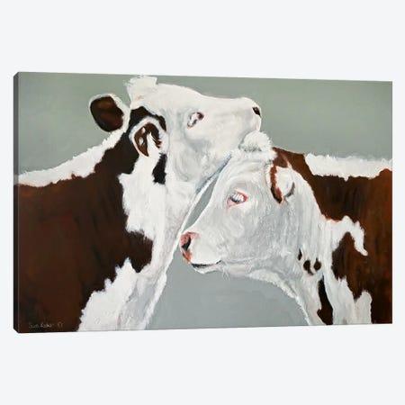 April and August Canvas Print #SRE7} by Suzi Redman Canvas Art
