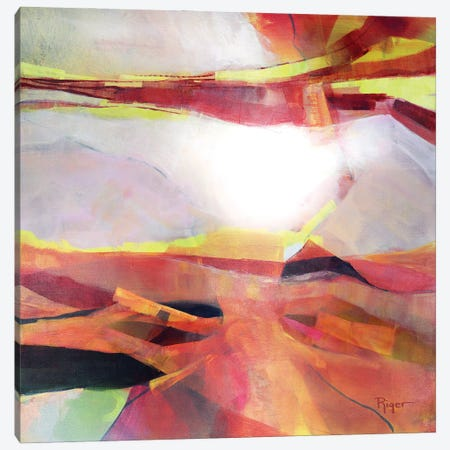 The Coloring Of Dawn Canvas Print #SRG23} by Sue Riger Canvas Artwork