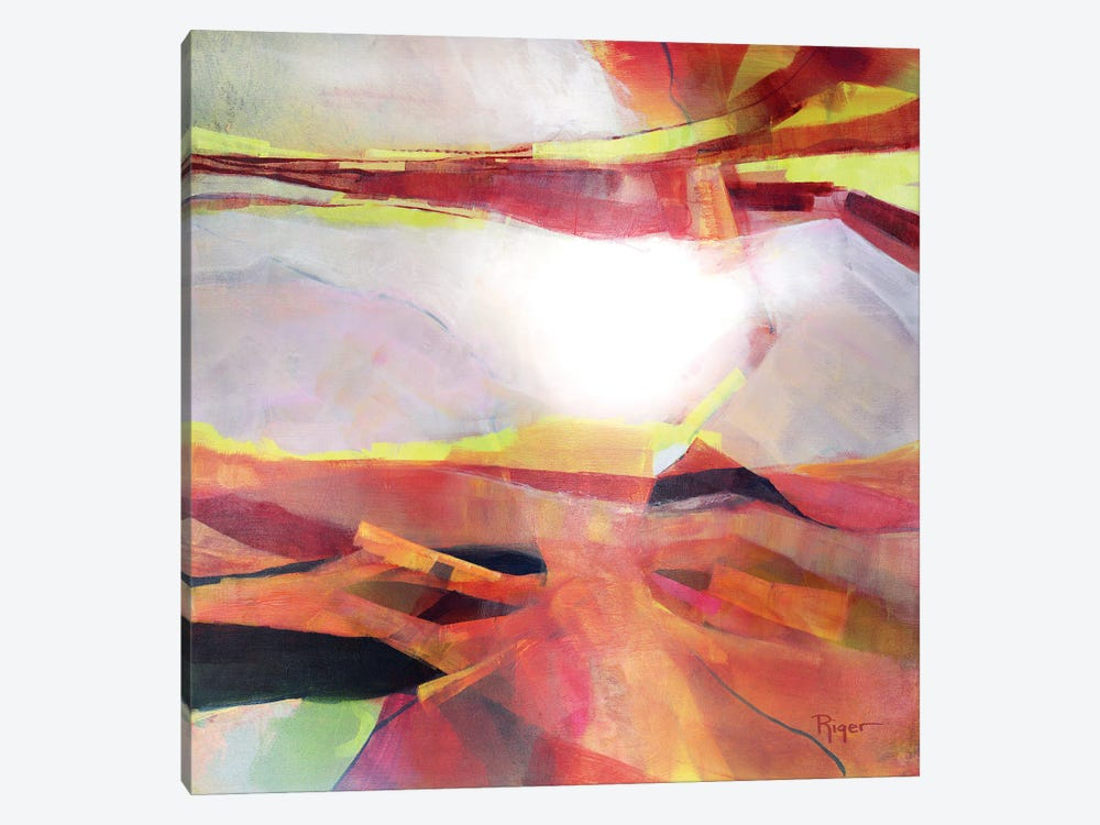 The Coloring Of Dawn by Sue Riger 1-piece Canvas Artwork