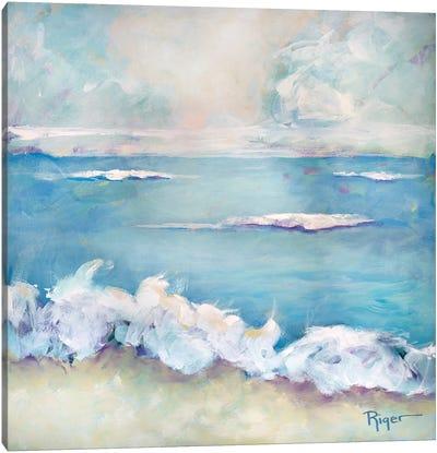 A Day at the Beach II Canvas Art Print