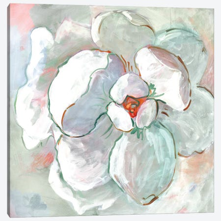 Contemporary Floral I Canvas Print #SRG40} by Sue Riger Canvas Art