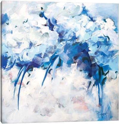 Hydrangeas on My Mind II Canvas Art Print