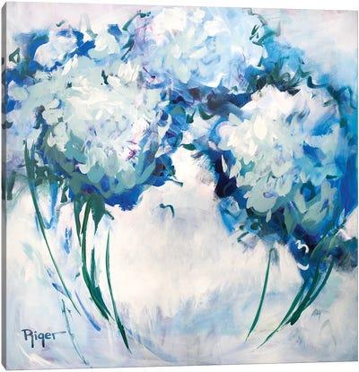 Hydrangeas on My Mind III Canvas Art Print