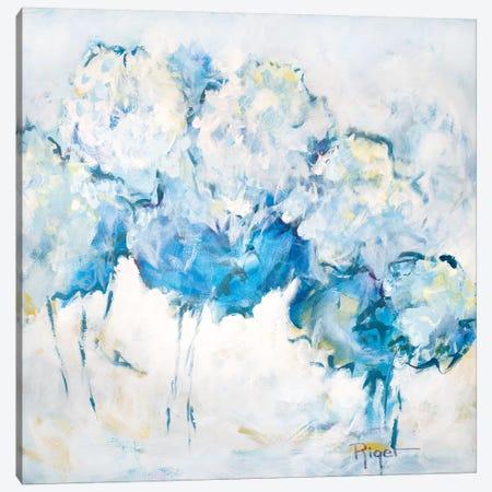 Hydrangeas on My Mind IV Canvas Print #SRG8} by Sue Riger Canvas Art Print
