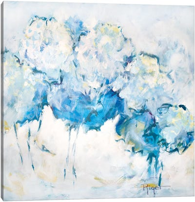 Hydrangeas on My Mind IV Canvas Art Print