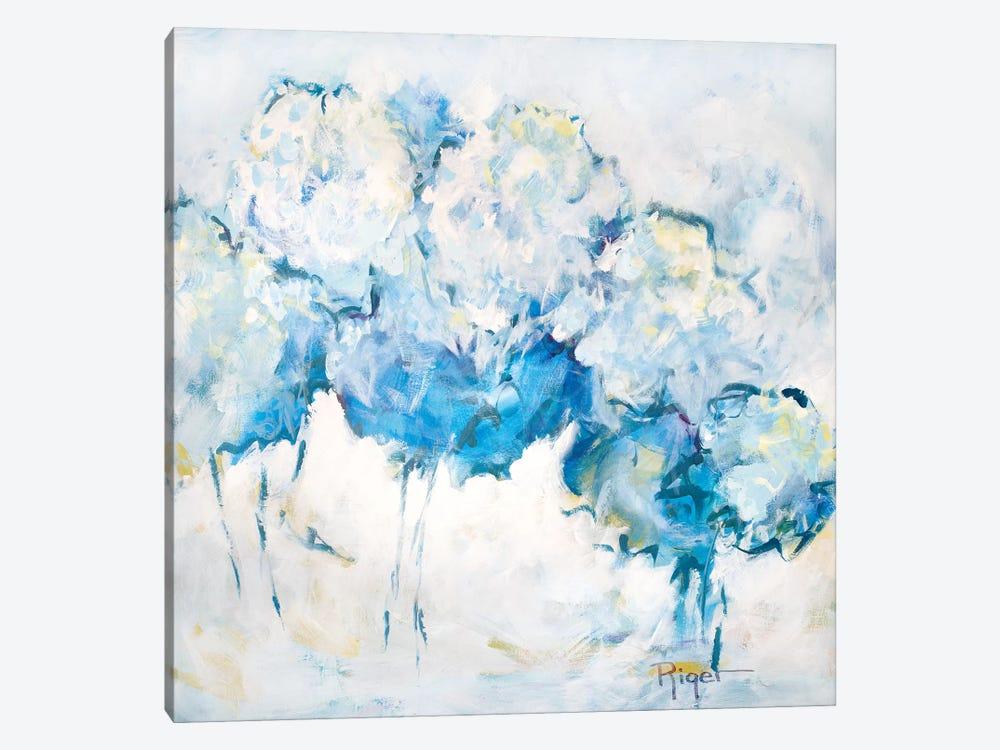 Hydrangeas on My Mind IV by Sue Riger 1-piece Canvas Art