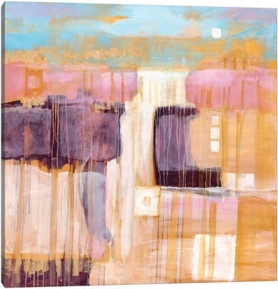 Terre Cotta Dunes I Canvas Art Print