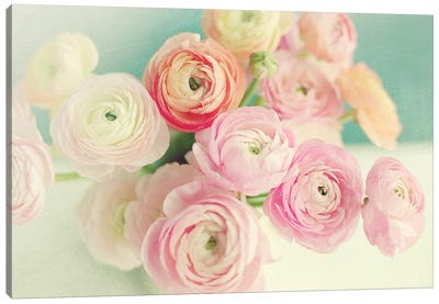 Blushing Blossoms Canvas Art Print