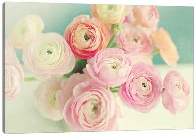 Blushing Blossoms Canvas Art Print