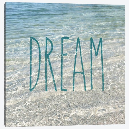 Dream In The Ocean Canvas Print #SRH13} by Sarah Gardner Canvas Art