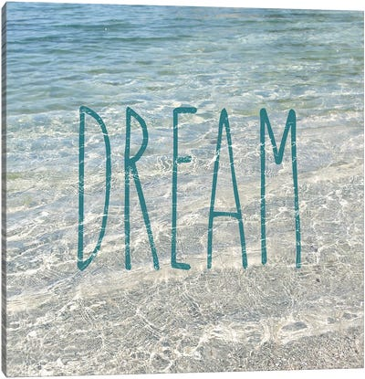 Dream In The Ocean Canvas Art Print