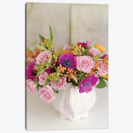 Radiant Bouquet Canvas Print #SRH30} by Sarah Gardner Canvas Artwork