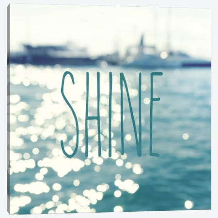 Shine In The Ocean Canvas Print #SRH38} by Sarah Gardner Canvas Art
