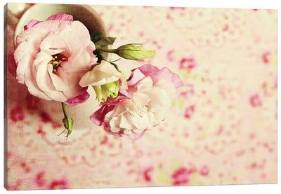 A Cup Of Romance Canvas Art Print