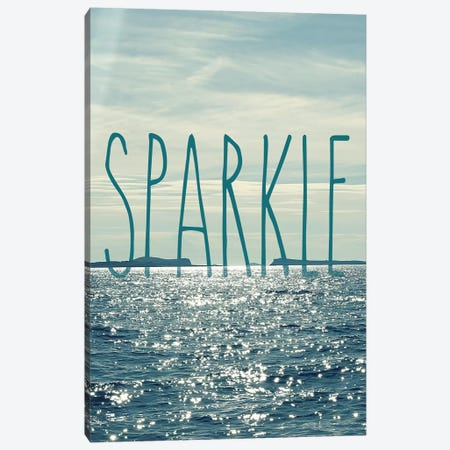 Sparkle Canvas Print #SRH40} by Sarah Gardner Canvas Art Print