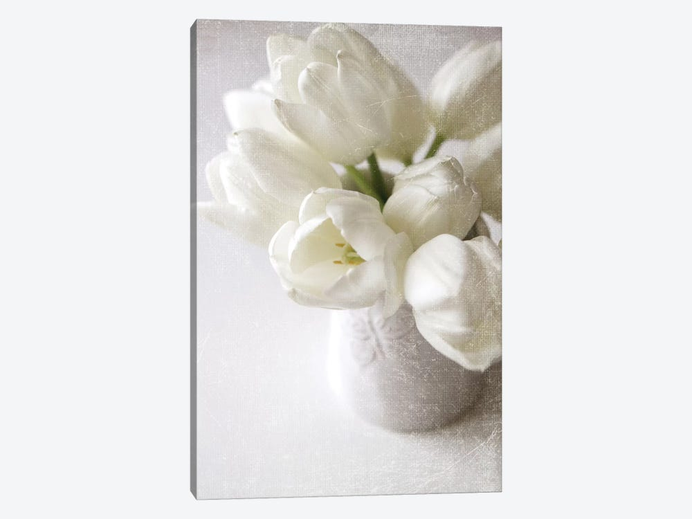 Vanishing In The White Elegance 1-piece Canvas Print