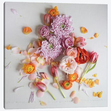 Fresh Bloom 3-Piece Canvas #SRH53} by Sarah Gardner Canvas Artwork
