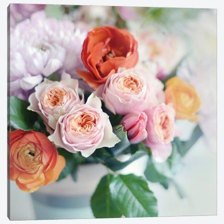Fresh Bouquet Canvas Print #SRH54} by Sarah Gardner Art Print