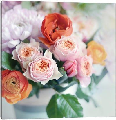 Fresh Bouquet Canvas Art Print