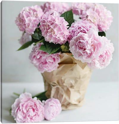 Pink Blooms Canvas Art Print