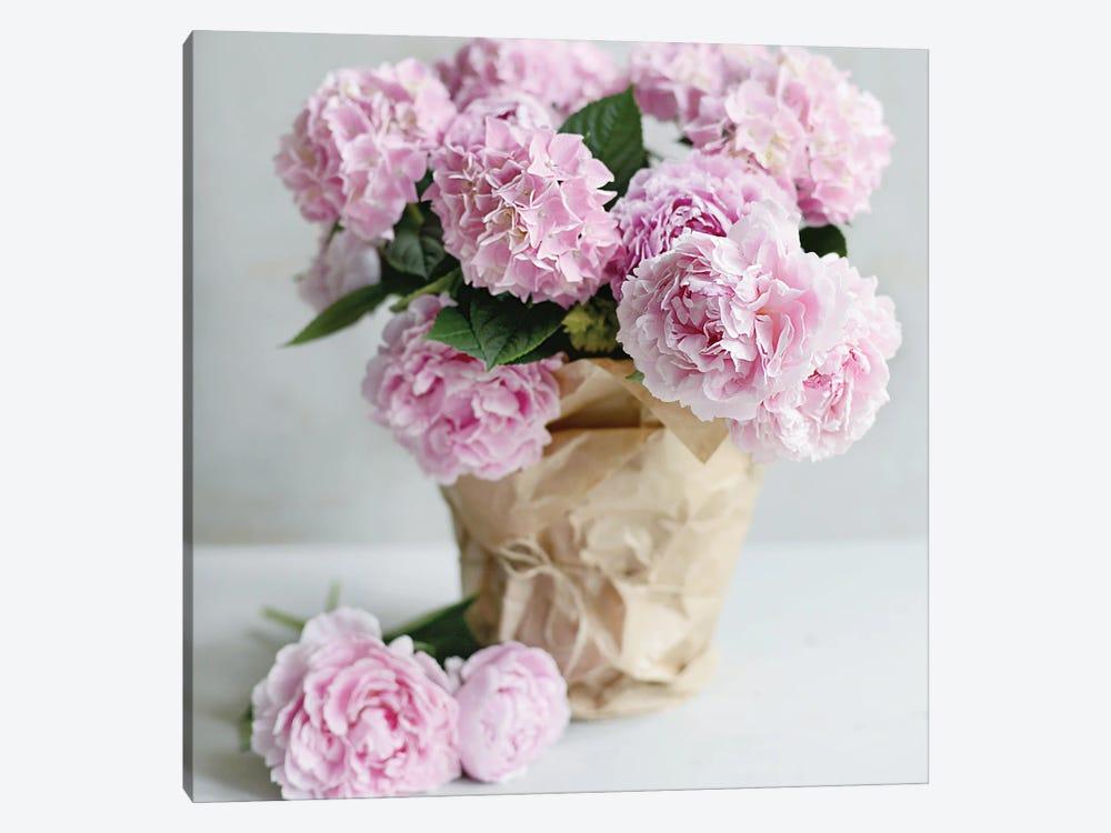 Pink Blooms by Sarah Gardner 1-piece Art Print