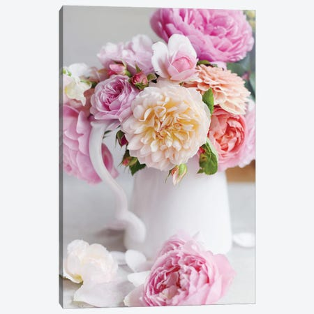 Romance of Spring Canvas Print #SRH72} by Sarah Gardner Canvas Artwork