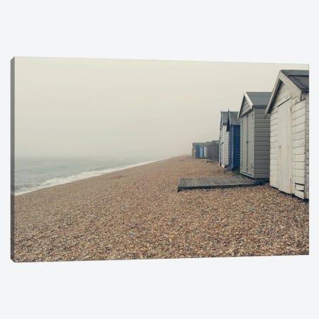 Beach Cabanas Canvas Print #SRH8} by Sarah Gardner Canvas Artwork