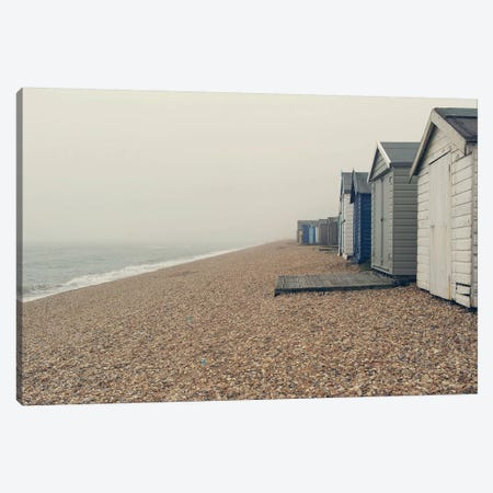 Beach Cabanas Canvas Print #SRH8} by Sarah Gardner Canvas Artwork