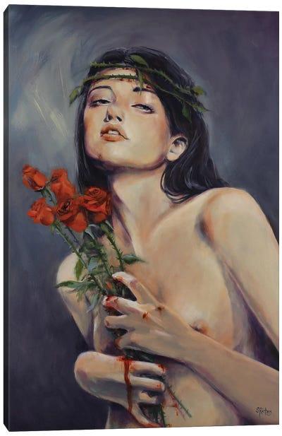 Crown Of Thorns Canvas Art Print