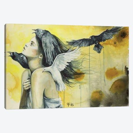 Against All Odds Canvas Print #SRI1} by Sara Riches Canvas Print