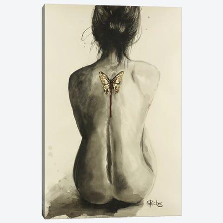 Dead Wings Canvas Print #SRI20} by Sara Riches Canvas Art